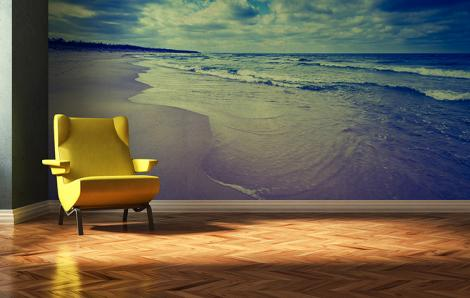Fototapete Meer und Strand für das Wohnzimmer
