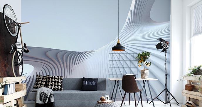 Fototapete mit moderner Architektur