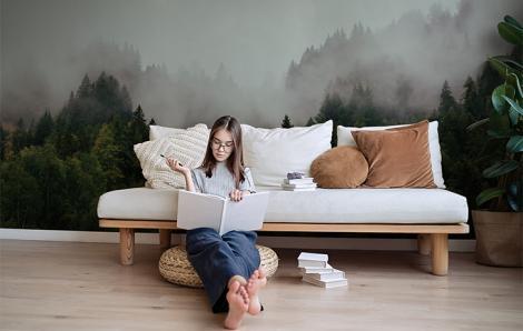 Fototapete Natur fürs Wohnzimmer