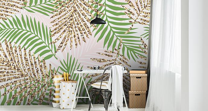Fototapete Palmblätter