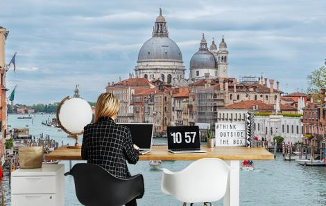Fototapete Skyline Venedig