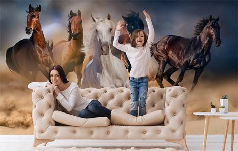 Fototapete Tiere – Pferde