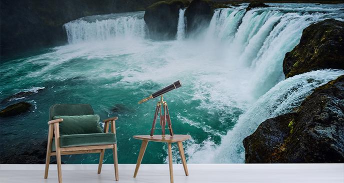Fototapete Wasserfall der Götter
