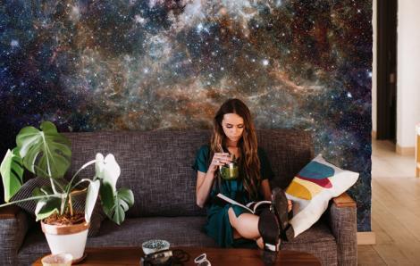 Fototapete Weltraum und Galaxie