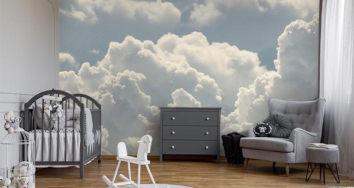 Fototapete Wolken für Kinderzimmer