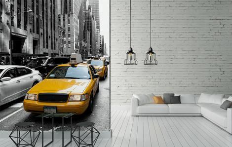 Fototapeten Taxis in New York