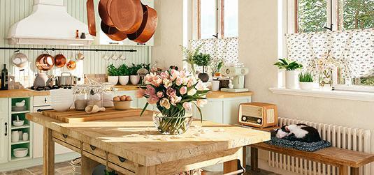 Küche im Retro-Stil – wir wissen, wie man sie geschmackvoll einrichten kann!