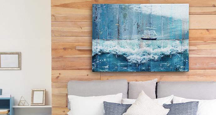 Meeresbild fürs Schlafzimmer