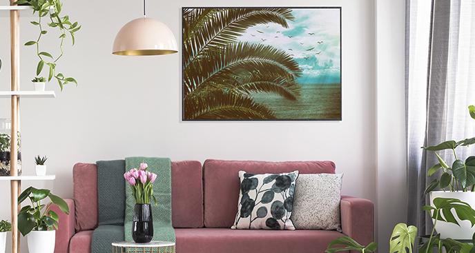 Meerespalme-Poster