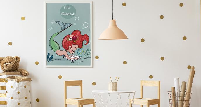 Meeresposter für Kinderzimmer