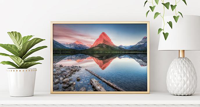 Modernes Poster Berge