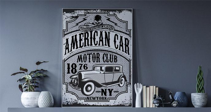 Motorisierung-Poster New York