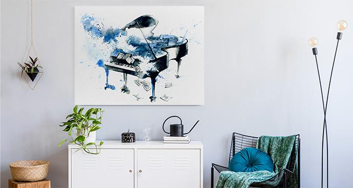 Musikalisches Bild für den Flur