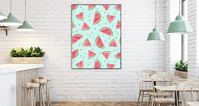 Obstplakat für Restaurants