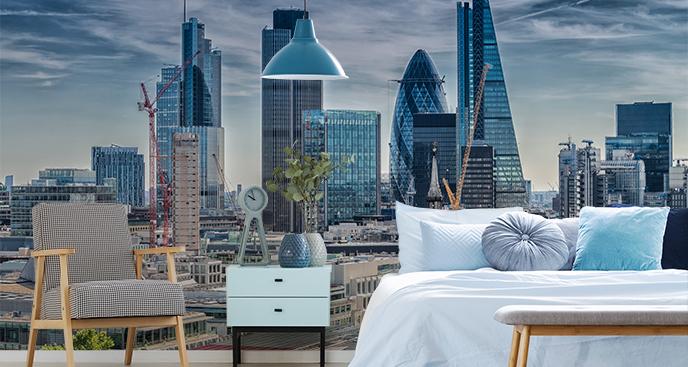 Panorama-Fototapete London