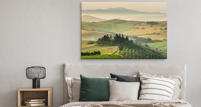 Panoramabild zu Toskana
