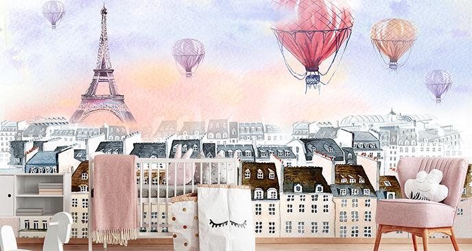 Pastell-Fototapete für Ihr Kinderzimmer