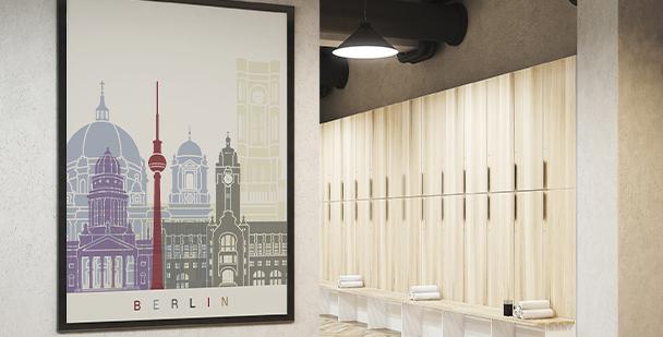 Plakat Berliner Denkmäler