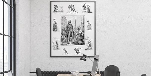 Poster Berlin im 19. Jahrhundert