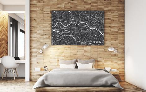 Poster Berlin - Stadtplan