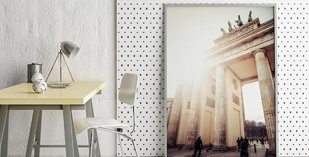 Poster Brandenburger Tor