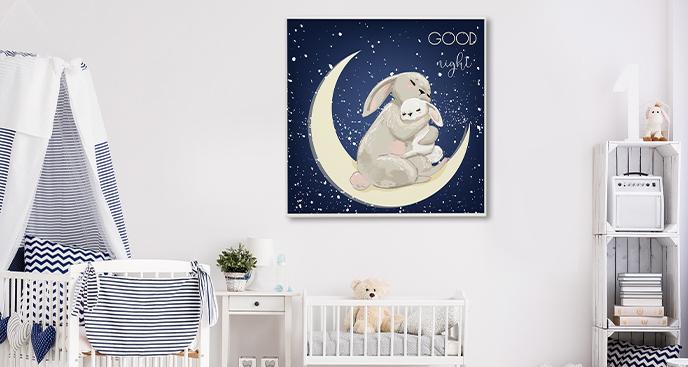 Poster der Liebe zwischen Mutter und Kind