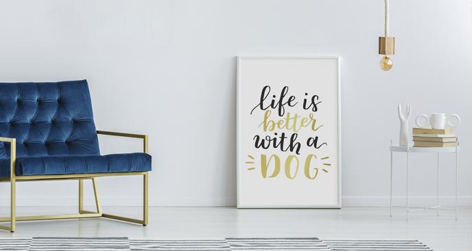 Poster für Hundeliebhaber