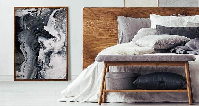 Poster im abstrakten Stil