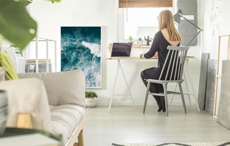 Poster Meer fürs Büro