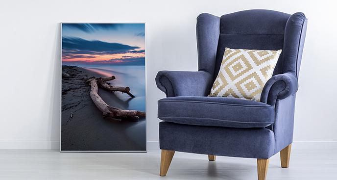 Poster Meer fürs Wohnzimmer