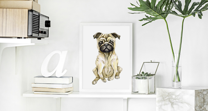 Poster Mops