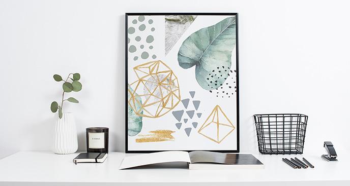 Poster skandinavischer Stil – Geometrie