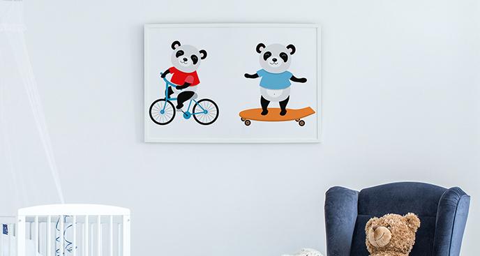 Poster Sport für Kinder