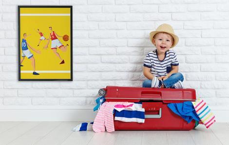 Poster Sport fürs Kinderzimmer