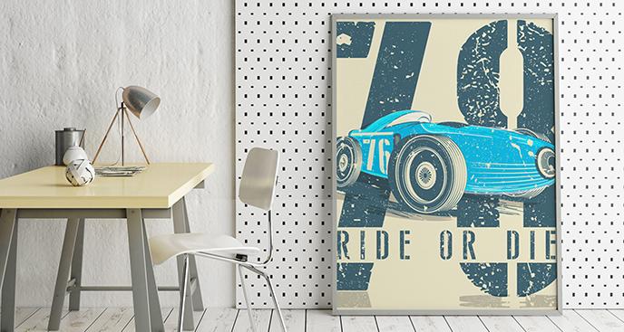 Poster Sportwagen
