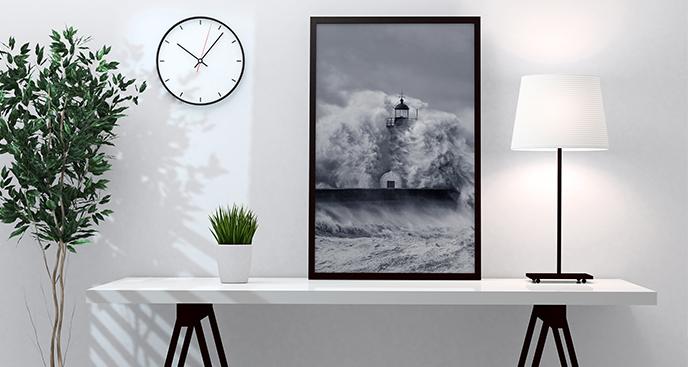 Poster steife Wellen