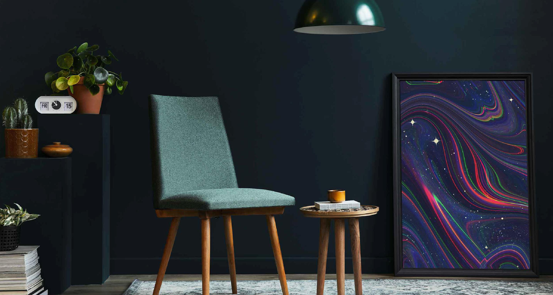 Poster Sterne in Farbe