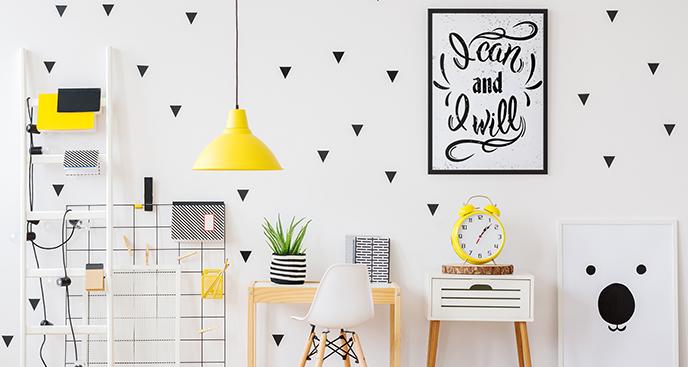 Poster Typografie für einen Teenager