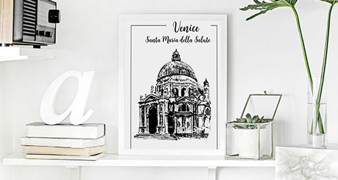 Poster Venedig - Basilika