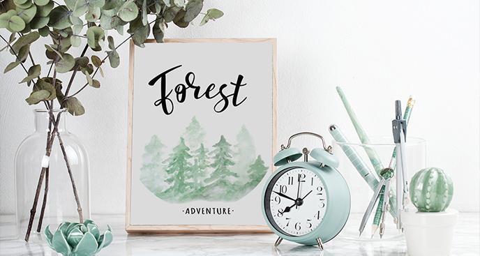 Poster Waldabenteuer