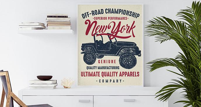 Poster zur Offroad-Meisterschaft