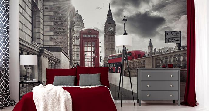 Räumliche Fototapete London