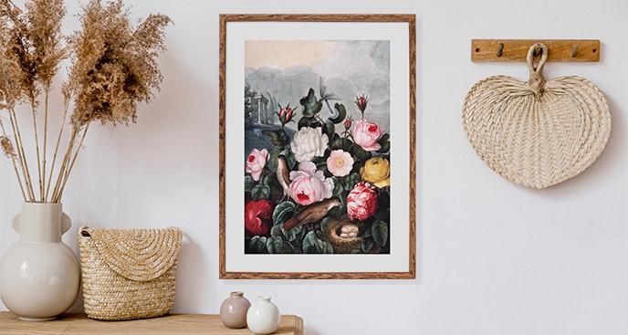 Retro-Blumen