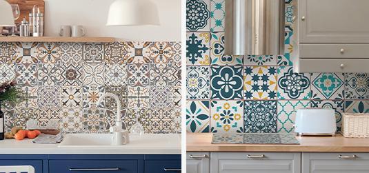 Selbstklebendes Mosaik – eine Dekoration, die jede Küche und jedes Badezimmer verändert