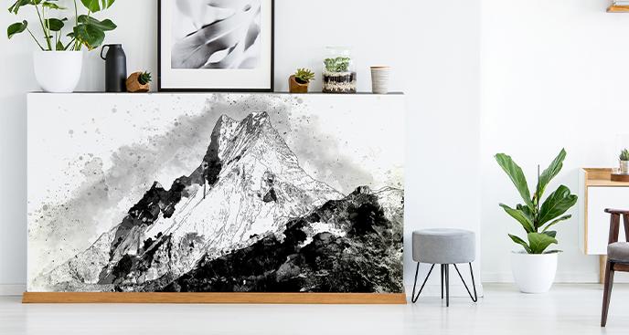 Sticker Bergkette