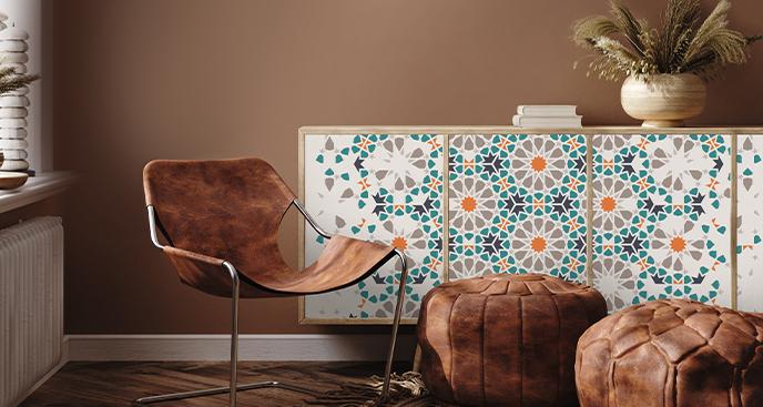 Sticker marokkanisches Muster