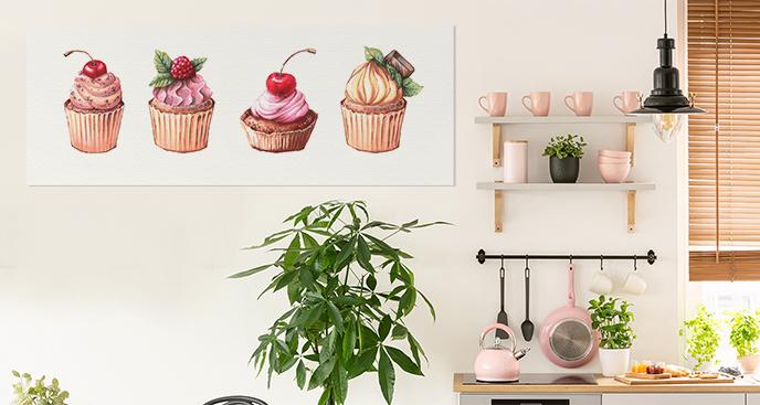 Süßes Bild für die Küche