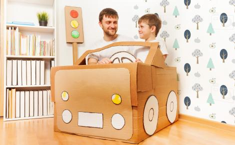 Tapete Wald für Kinderzimmer