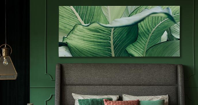 Tropisches Bild fürs Schlafzimmer