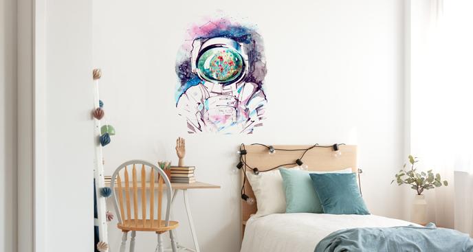 Wandsticker Astronaut